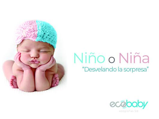 Ecografía Niño o Niña